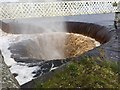 NZ0493 : Giant plughole in action 2 by Leanmeanmo