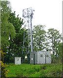NJ3558 : Mobile Phone Mast by Anne Burgess