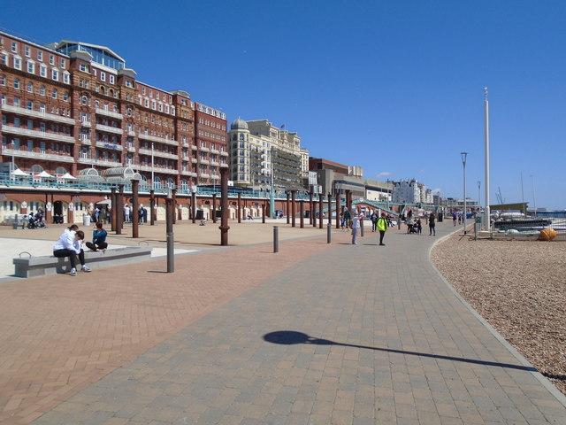 Brighton Seafront May 2020