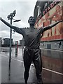 TQ3185 : Tony Adams statue at Arsenal's Emirates Stadium by Martyn Pattison