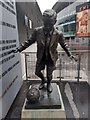 TQ3185 : Ken Friar statue at Arsenal's Emirates Stadium by Martyn Pattison