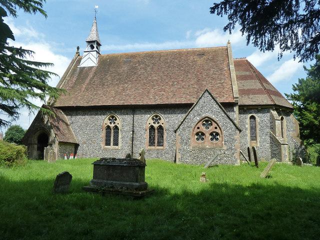 Shepherdswell church