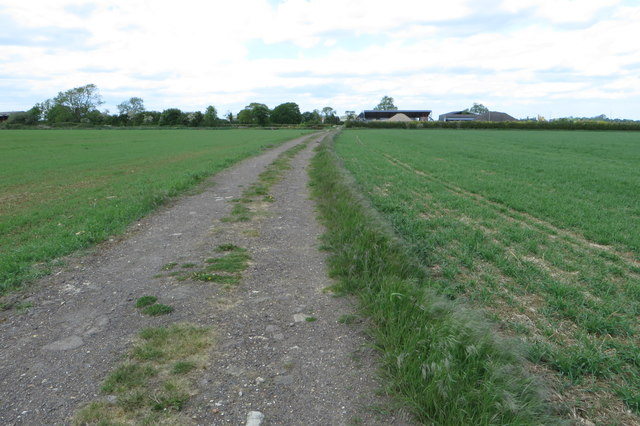 Byway towards College Farm