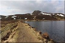 NN9462 : Dam, Loch a' Choire by Graeme Yuill