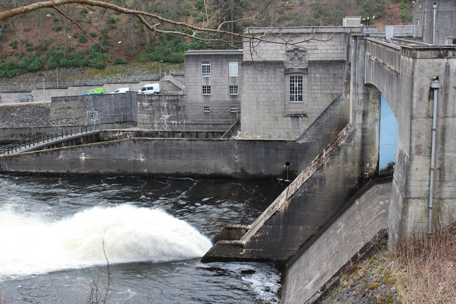 Pitlochry Power Station and Dam