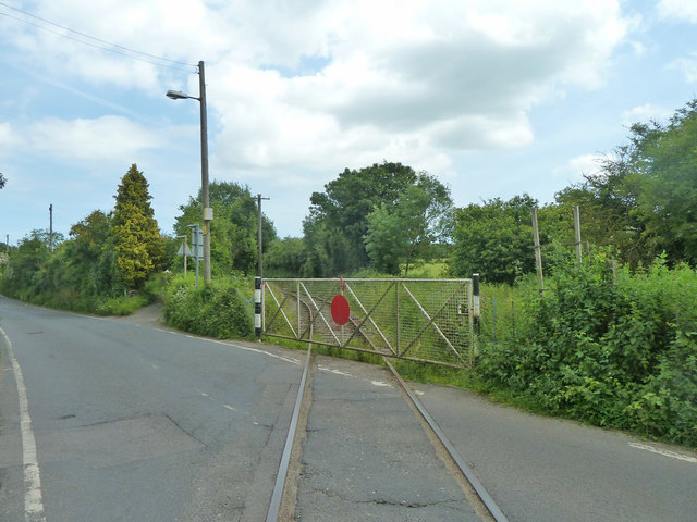 Level crossing gate, East Kent Railway