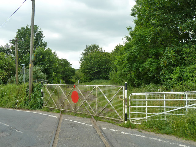Level crossing gate, East Kent Railway