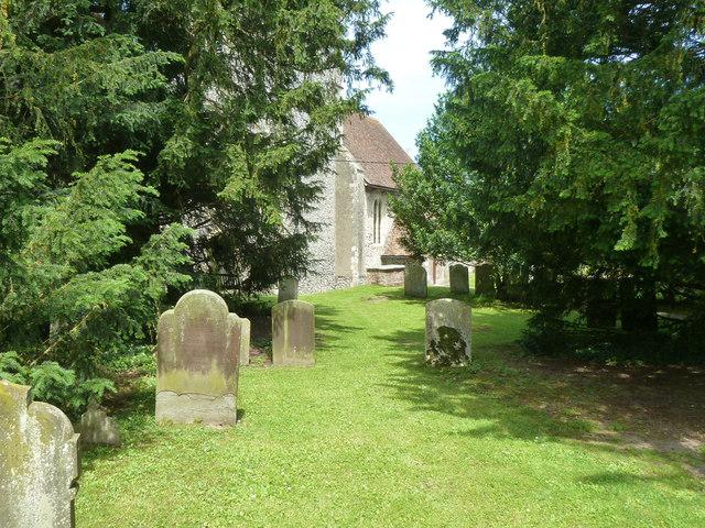 Churchyard, Tilmanstone