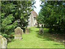 TR3051 : Churchyard, Tilmanstone by Robin Webster