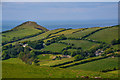 SS5947 : Combe Martin : Countryside Scenery by Lewis Clarke