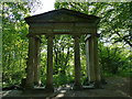 SE2636 : The Victoria Arch, Queen's Wood, Leeds by Stephen Craven