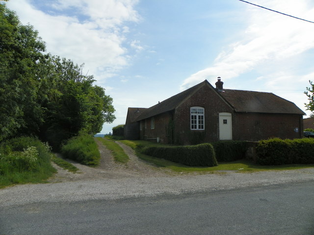 Homelands Farm and the start of North Stroud Lane
