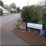 SZ0695 : West Howe: Fernheath Close by Chris Downer