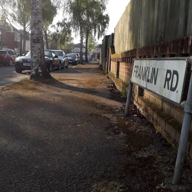 Moordown: Franklin Road