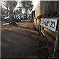 SZ0995 : Moordown: Franklin Road by Chris Downer