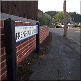 SZ0895 : Northbourne: Frensham Close by Chris Downer
