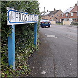 SZ0595 : West Howe: Frost Road by Chris Downer