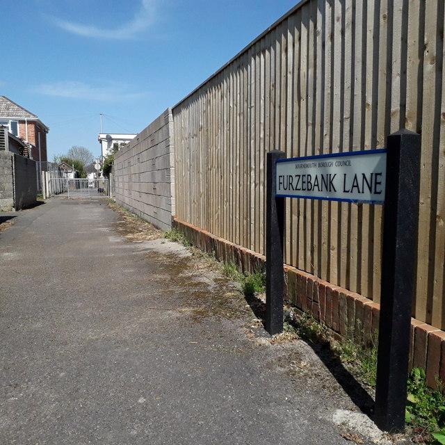 Ensbury Park: Furzebank Lane