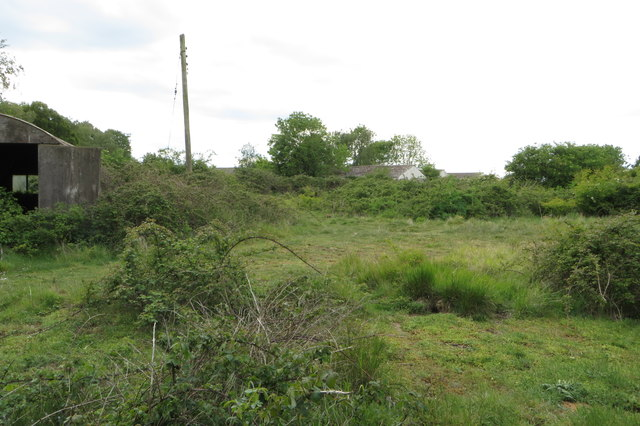 Waste ground at Thurleigh Airfield