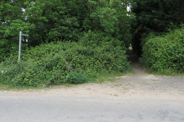 Bridleway off Keysoe Road