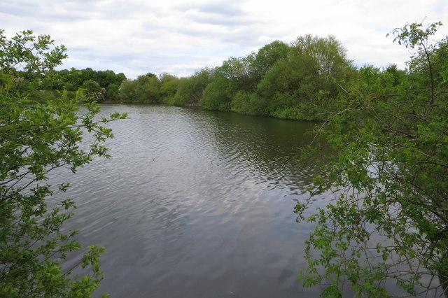 Reservoir near Bucknoe End