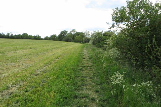 Footpath to Thurleigh Church End