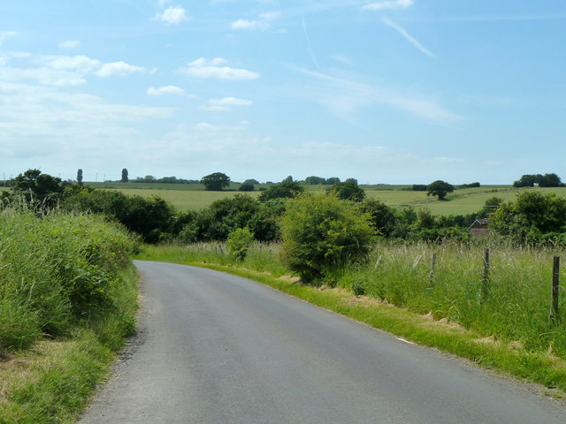 Road towards Goodnestone