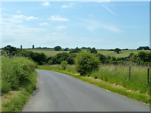 TR2754 : Road towards Goodnestone by Robin Webster