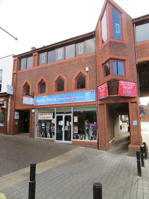 Charity shop in Church Street