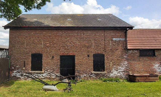 Old Brick Barn at Tally-Ho Farm
