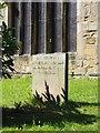 SK3582 : Headstone for a scythegrinder by Graham Hogg