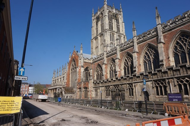 South Church Side and Hull Minster