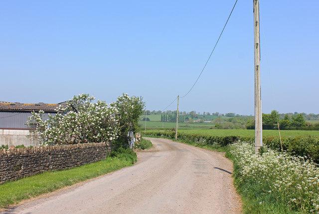 Near Clitchbury Farm