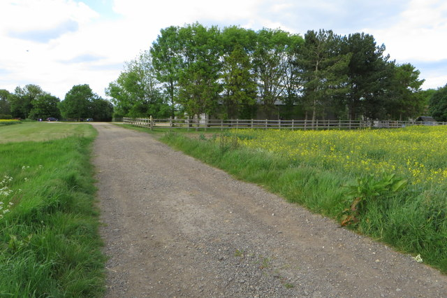 Rutter's Farm and bridleway