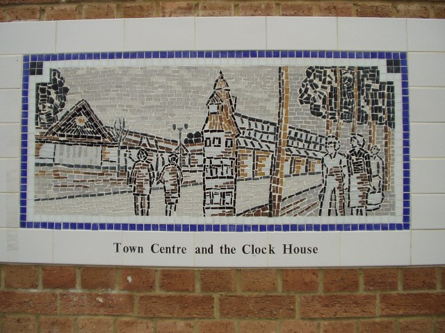 Town Centre and the Clock House