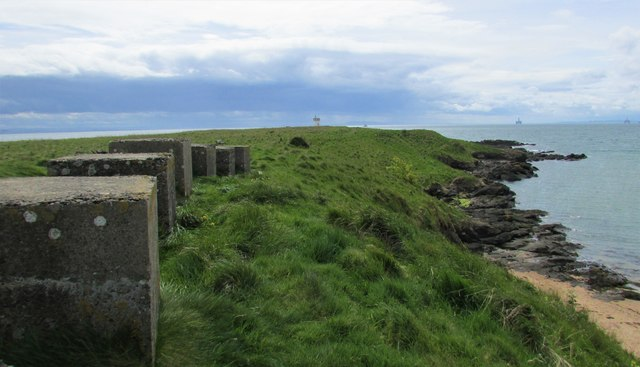 View from Fife Coastal Path