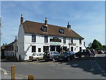 TR3054 : The Five Bells, Eastry by Robin Webster