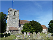 TR3154 : Eastry church by Robin Webster