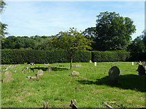 TR3154 : Churchyard, Eastry by Robin Webster