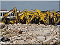 SO7844 : Demolition excavators by Philip Halling