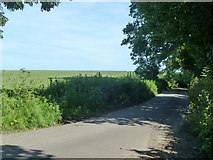 TR3254 : Lane towards Ham church by Robin Webster