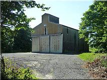 TR3254 : Barn at Ham Manor by Robin Webster
