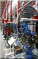 SD6909 : Bolton steam Museum - boiler front by Chris Allen