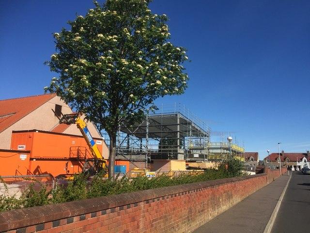 Construction, Port Seton