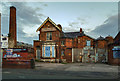 SJ8296 : Globe Trading Estate by Peter McDermott