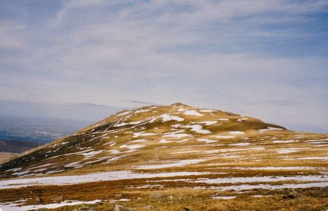 Carnedd y Filiast from Mynydd Perfedd