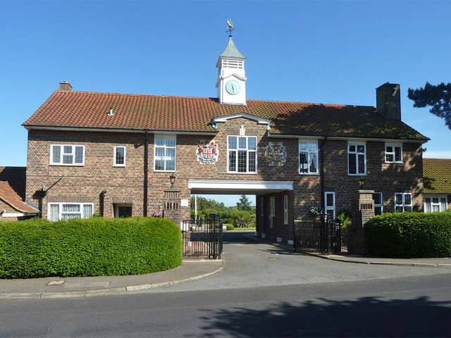 Gate house, Trinity House almshouses, Walmer