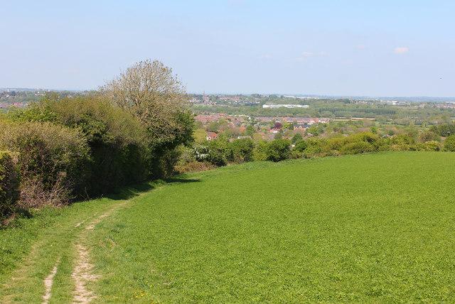 Footpath near Wroughton