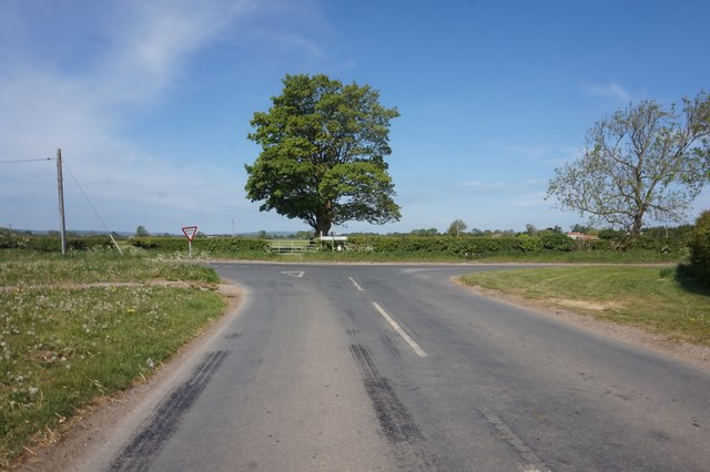 Habton Lane at Newsham Lane