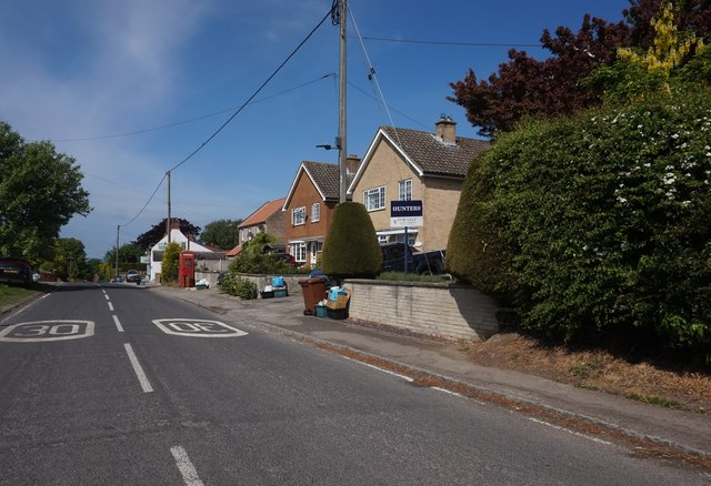 Barugh Lane at Great Barugh